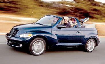 2005 Chrysler PT Cruiser GT Convertible