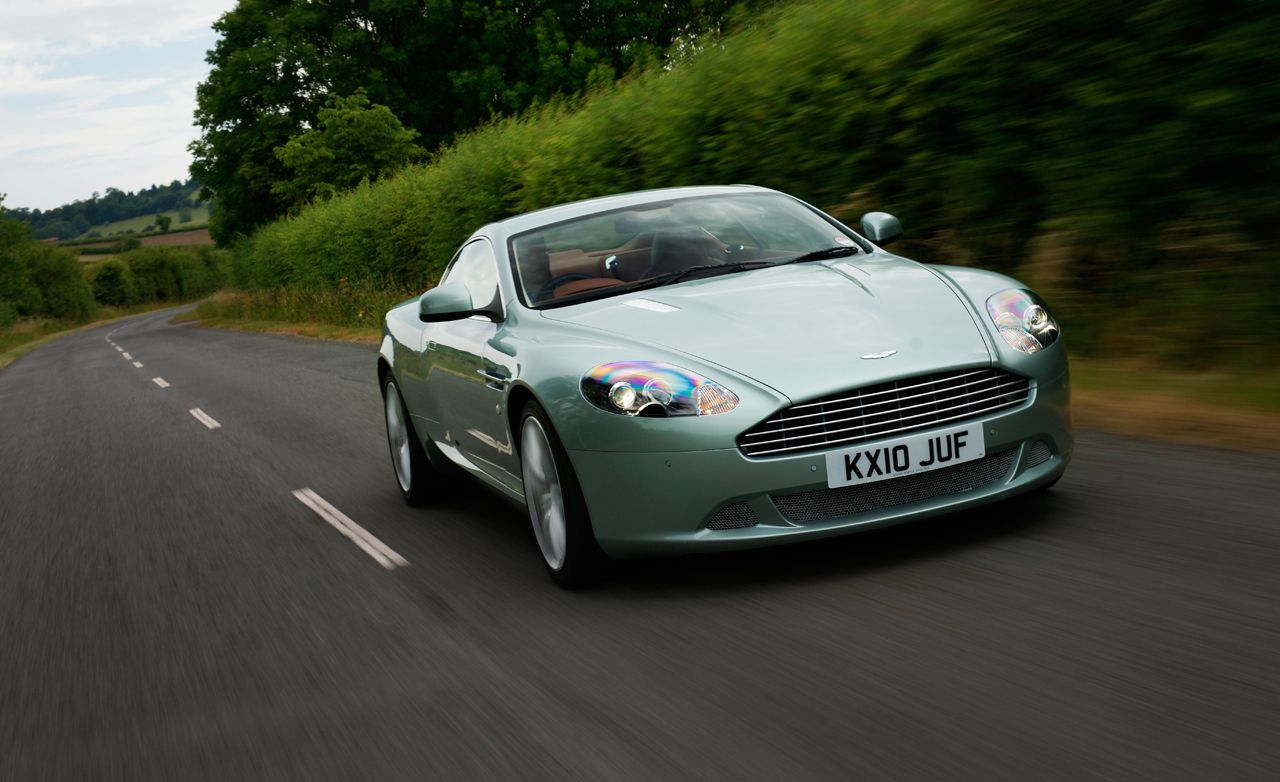 aston martin db9 – first drive review – car and driver