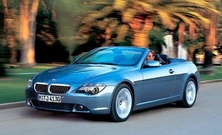 BMW Ci Convertible Short Take Road Test Reviews Car And - 2005 bmw 645ci convertible price