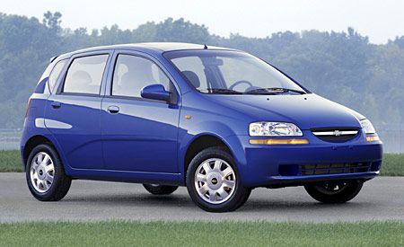 2004 chevy aveo manual