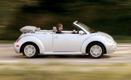 Volkswagen New Beetle GLS 1.8T Convertible