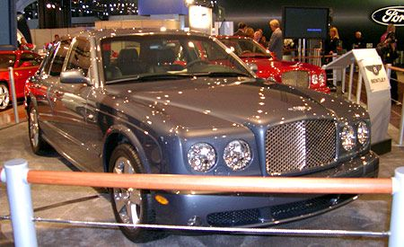 2005 Bentley Arnage Road Test Review Car And Driver