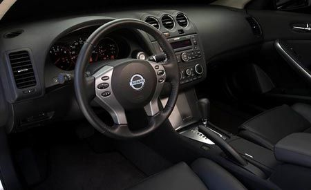 Slick Altima Interior, Chrysler Hybrids, Chris Bangle's Promotion
