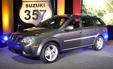 Suzuki Forenza Wagon