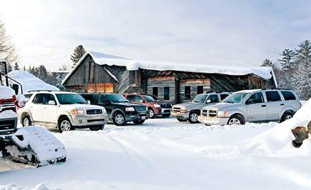 2004 Chevy Tahoe vs. Dodge Durango, Ford Expedition, Nissan Pathfinder Armada, Toyota Sequoia