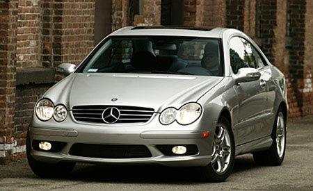 2004 Mercedes-Benz CLK55 AMG