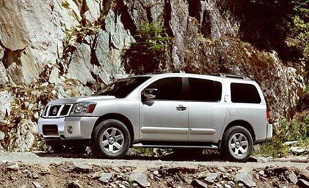 2004 Nissan Pathfinder Armada Se