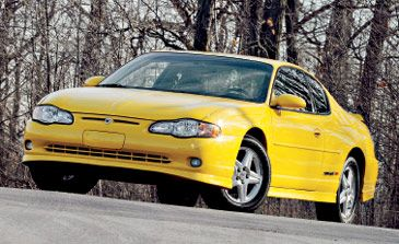 Chevrolet Monte Carlo Supercharged SS