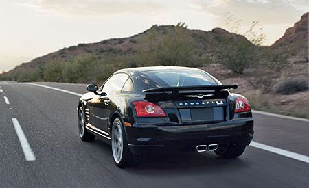 Chrysler Gives Its Crossfire A Swift Kick You May Need To Bring Cushion
