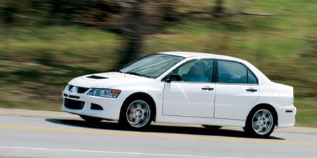 Mitsubishi Lancer Evolution Rs Instrumented Test Car And Driver