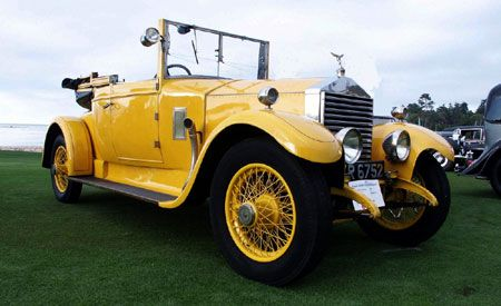1923 Rolls-Royce Drophead Coupe