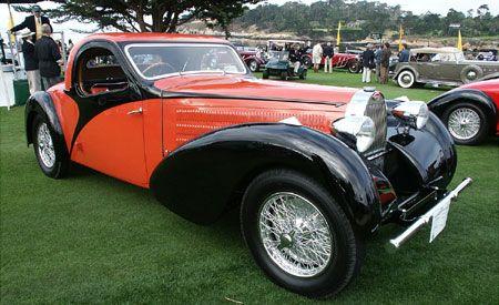 1937 Bugatti Type 57S Atalante coupe