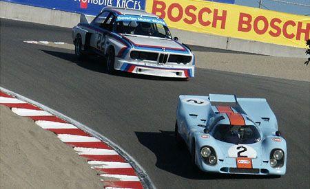 1969 Porsche 917K and 1975 BMW CSL