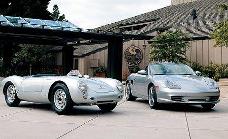 A James Dean Porsche