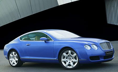 Bentley Continental GT Mulliner