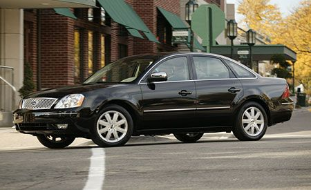 2005 ford five hundred road test – review – car and driver
