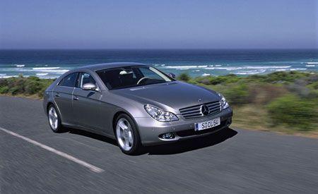 Mercedes-Benz CLS500, CLS55 AMG, AND SLK55 AMG