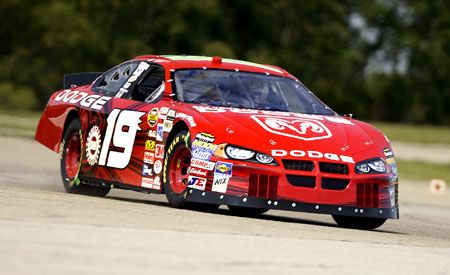 Dodge Intrepid NASCAR Racer Features Car and Driver