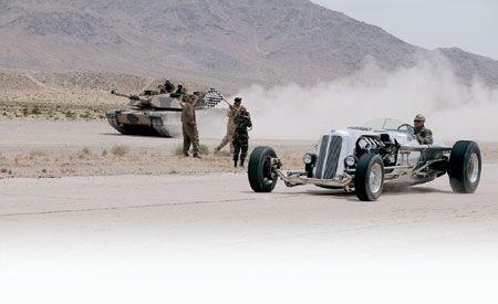 Tank vs. Crank
