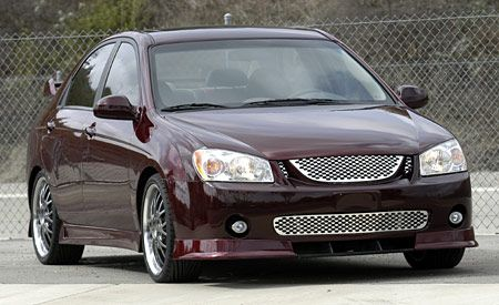 Kia Spectra Red Devil