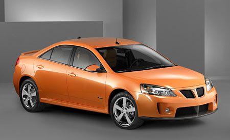 Pontiac G6 GXP  Auto Shows  News  Car and Driver