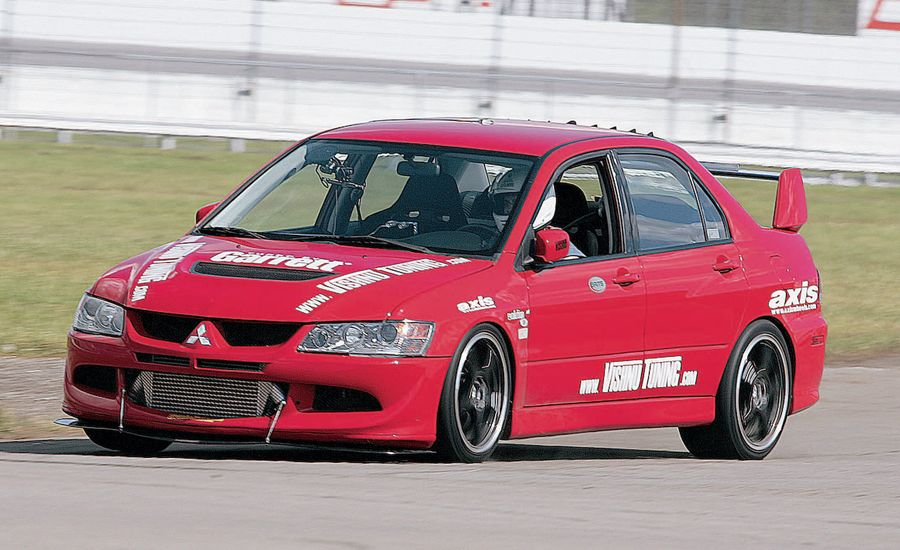 2003 Vishnu Mitsubishi Lancer Evolution