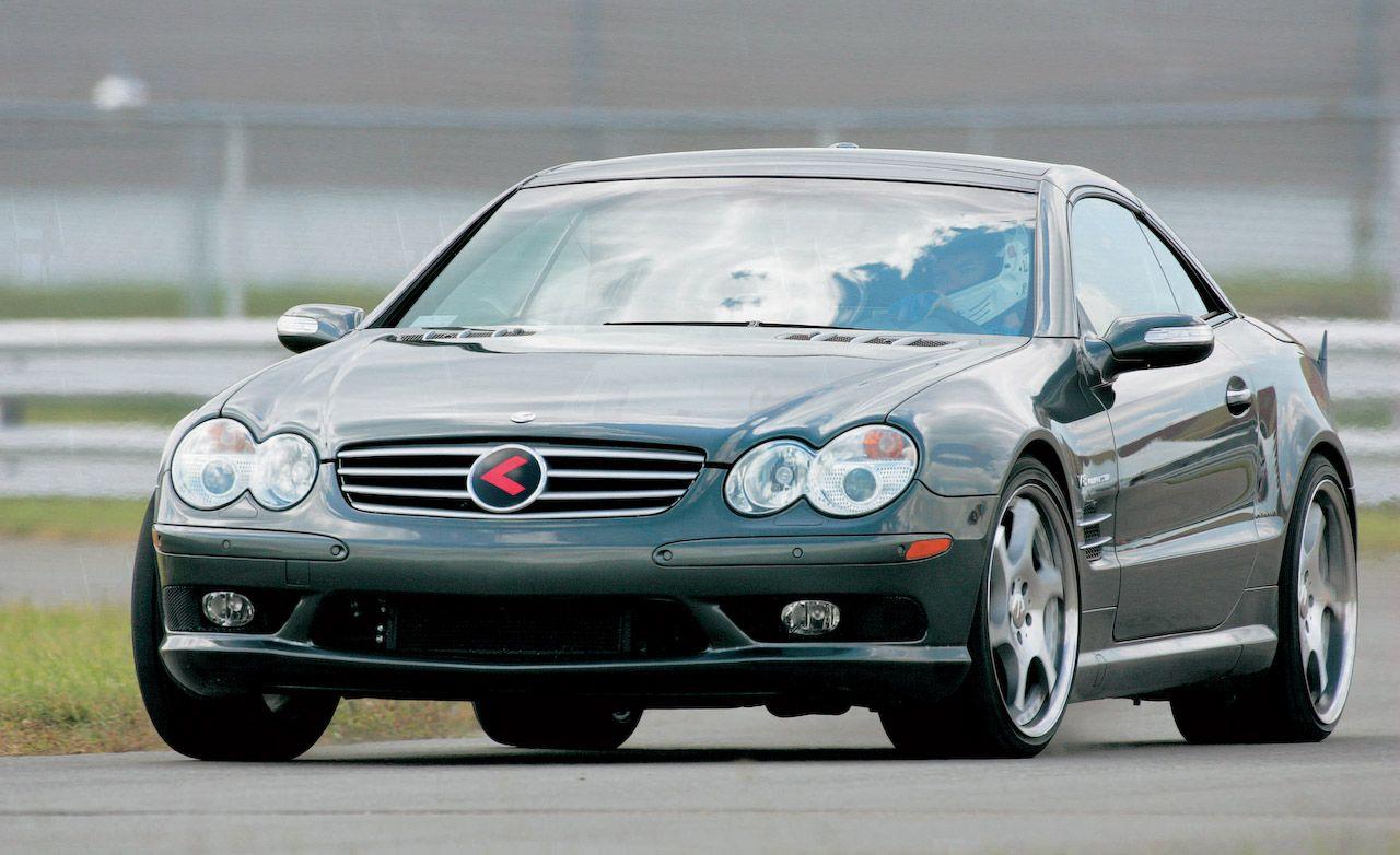 2004 sl55 amg horsepower