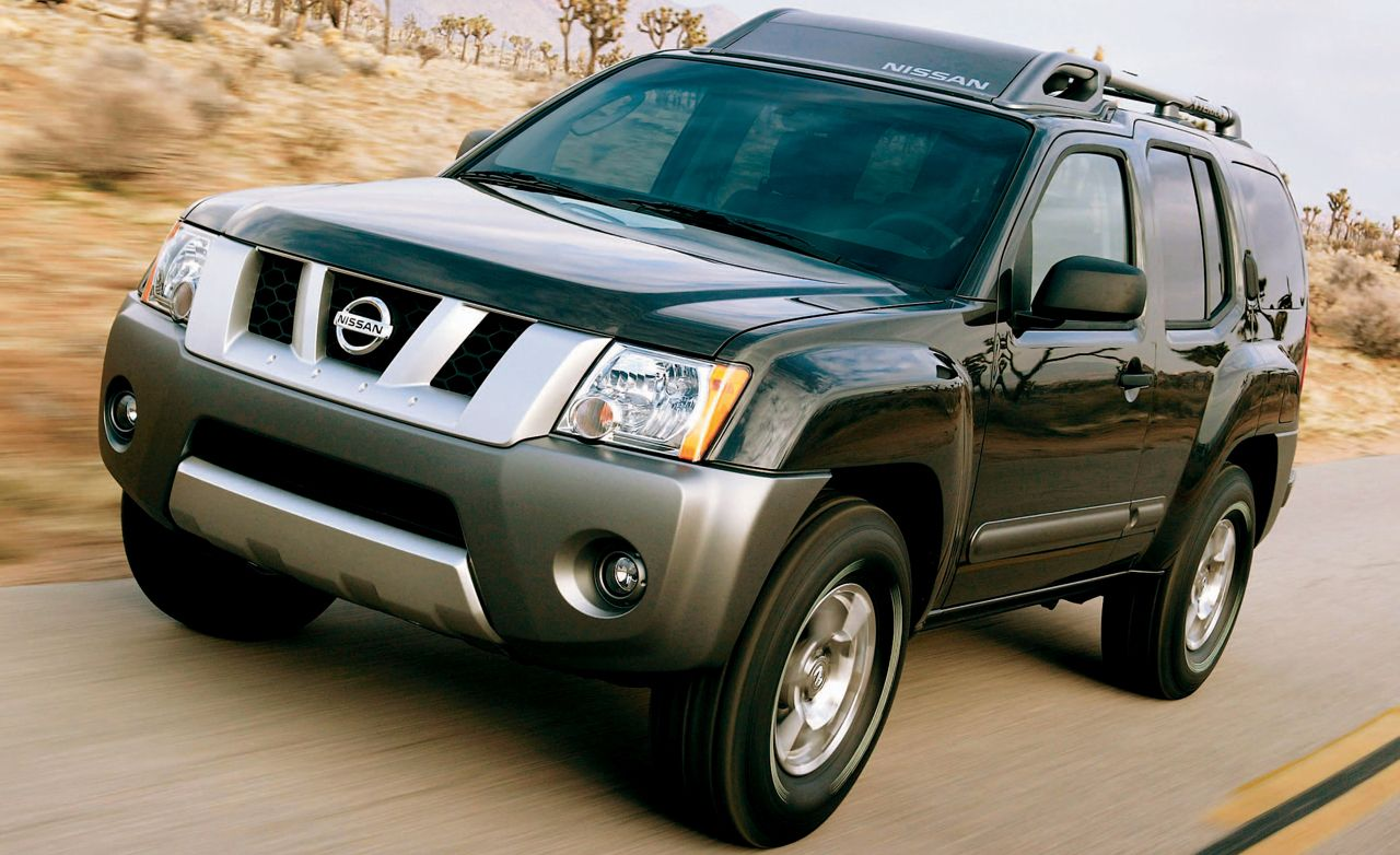 2005 nissan xterra road test review car and driver rh caranddriver com 2014 Nissan Xterra PRO-4X 2012 Nissan Xterra