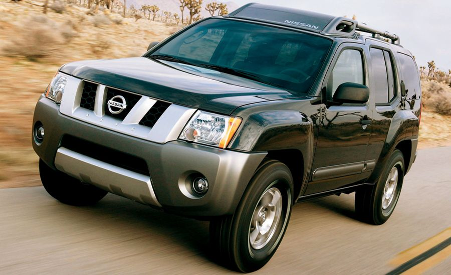 2005 nissan xterra road test review car and driver. Black Bedroom Furniture Sets. Home Design Ideas