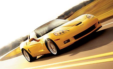 2006 Chevrolet Corvette Z06 First Drive Review Car And Driver