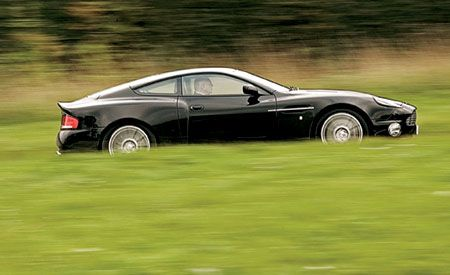 Aston Martin V Vanquish S - 2005 aston martin vanquish