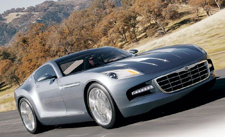 Chrysler sports car
