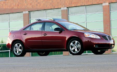 pontiac g6 gt road test reviews car and driver. Black Bedroom Furniture Sets. Home Design Ideas