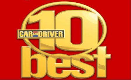2005 10Best Cars