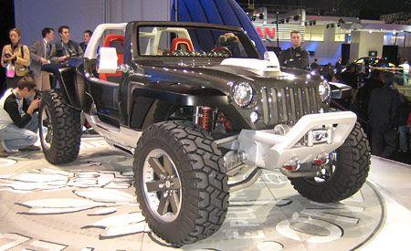 Jeep Hurricane Concept