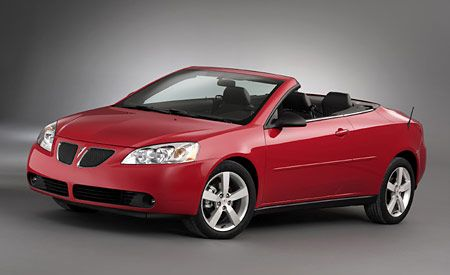 Pontiac G6 Coupe and Convertible