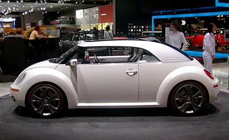 Volkswagen New Beetle Ragster Concept