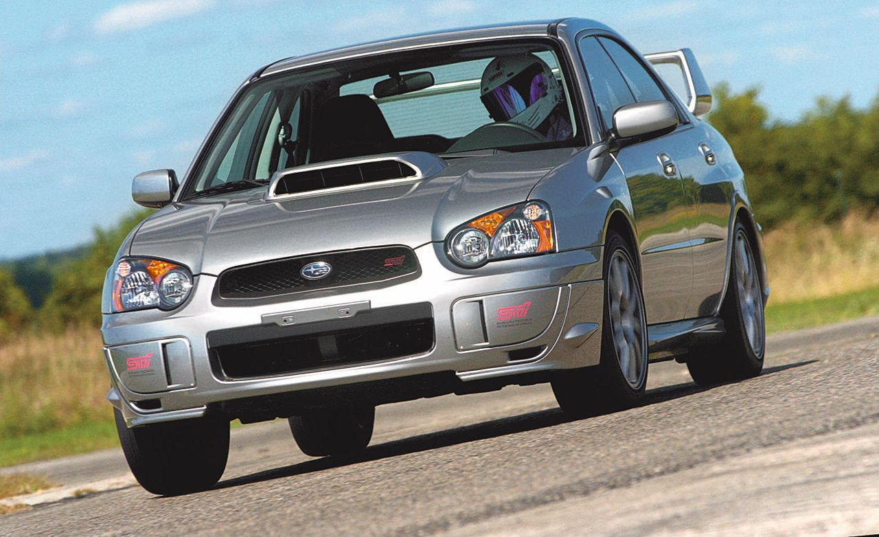 2005 subaru impreza wrx sti | comparison tests | comparisons | car