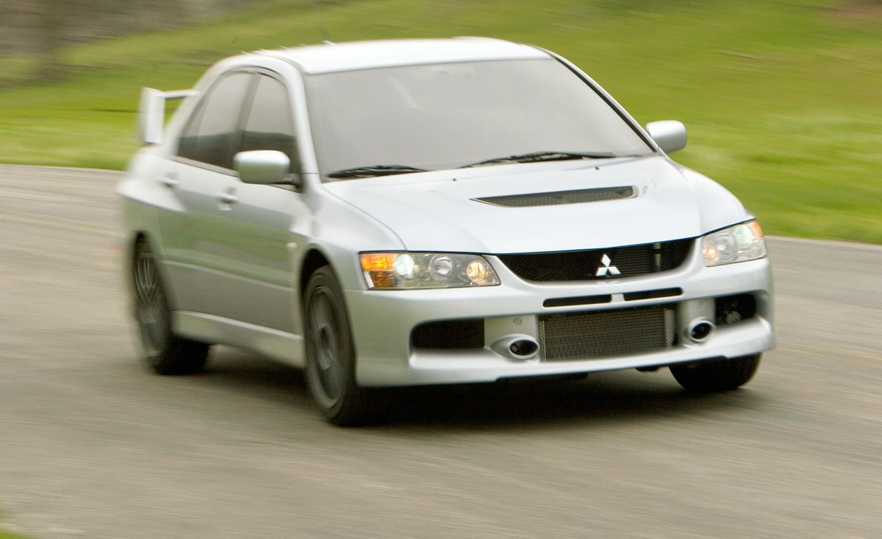 Delightful 2006 Mitsubishi Lancer Evolution IX First Drive   Review   Car And Driver