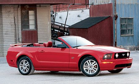 Ford Mustang Gt Convertible Instrumented Test Reviews Car And