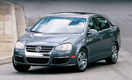 volkswagen jetta road test review car  driver
