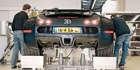 Inside Ch Acirc Teau Bugatti