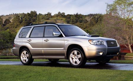 Face-Lifted Forester
