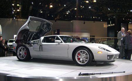 Ford GT Tungsten Silver