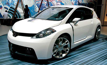 Nifty Nissan Hatchback Goes After Scion