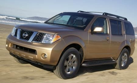 2005 Nissan Pathfinder SE Off-Road
