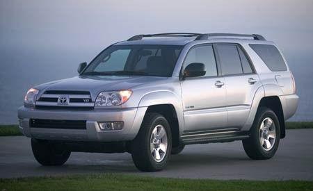 Toyota Runner WD Sport Edition Comparison Tests - 2005 4runner