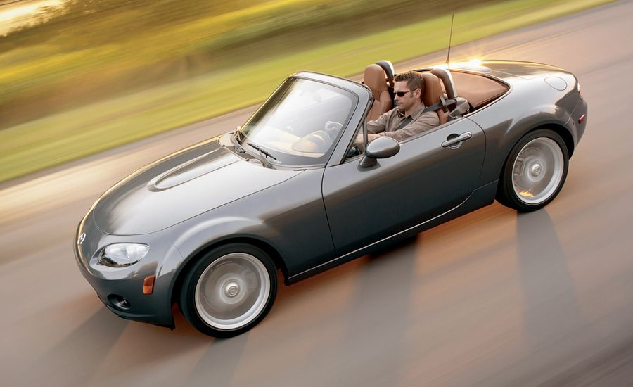 2006 mazda mx 5 miata review car and driver. Black Bedroom Furniture Sets. Home Design Ideas