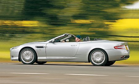Aston Martin DB Volante - 2005 aston martin db9