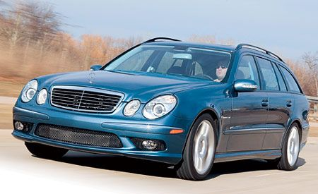 Mercedes-Benz E55 AMG Wagon